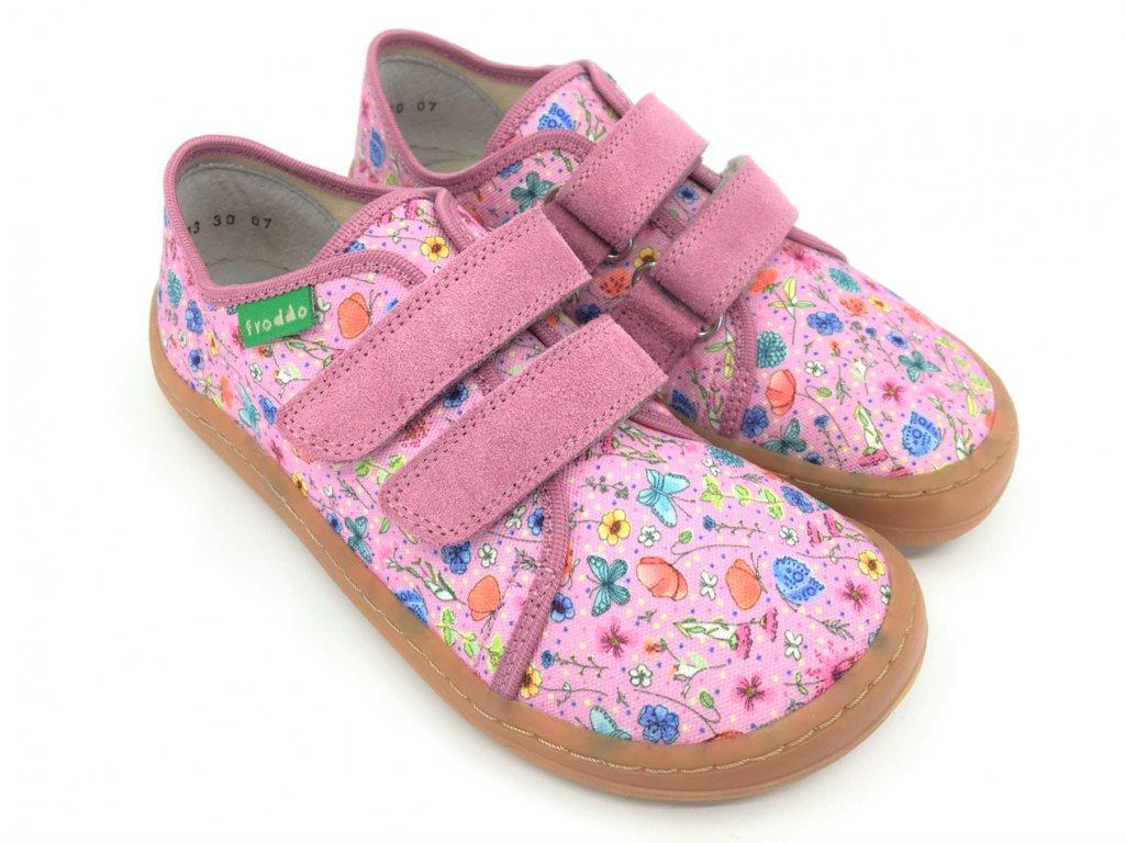 Froddo barefoot tenisky Pink + G1700283 1