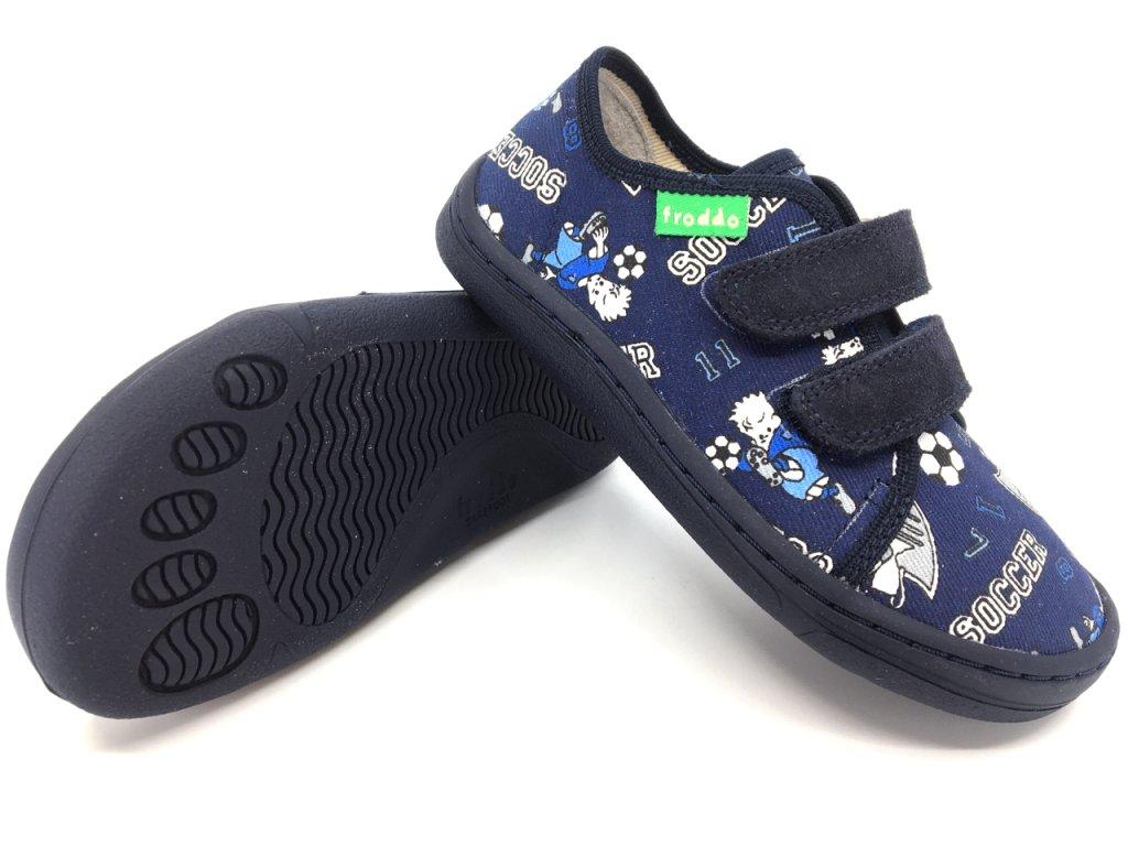 Barefoot tenisky Froddo Blue+ textilní G1700283 6