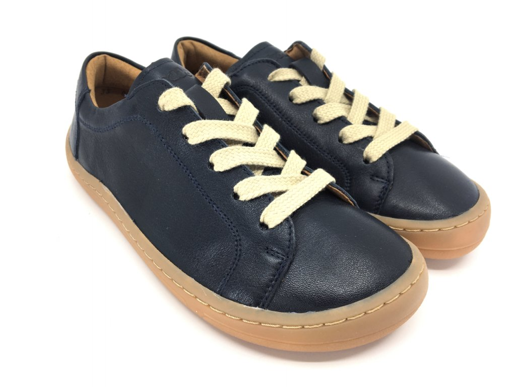Barefoot tenisky Froddo Dark Blue kožené G3130173 5