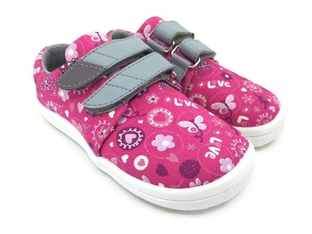Barefoot tenisky Beda Love BF 0001TEXW