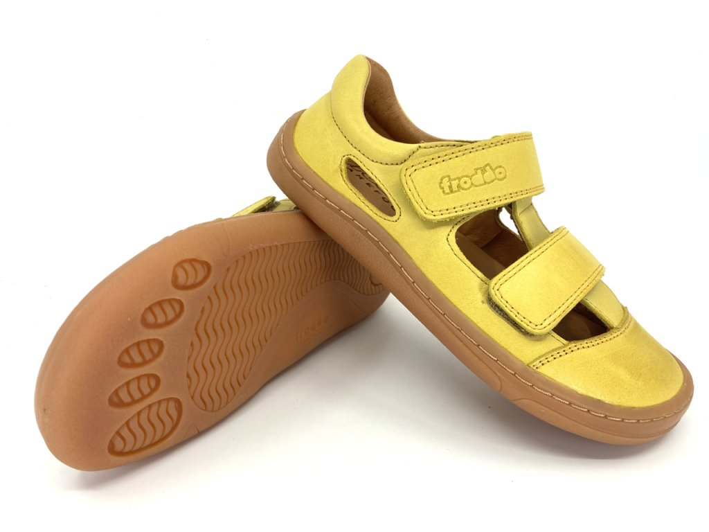 Barefoot sandále Froddo Yellow G3150197 6