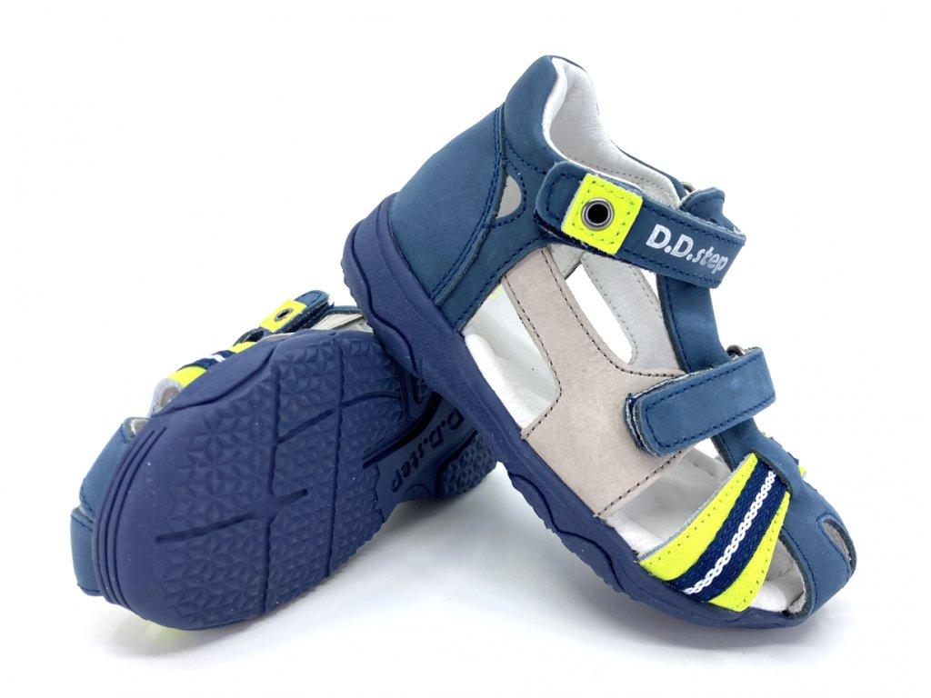 sandále DD Step AC64 826B Royal Blue
