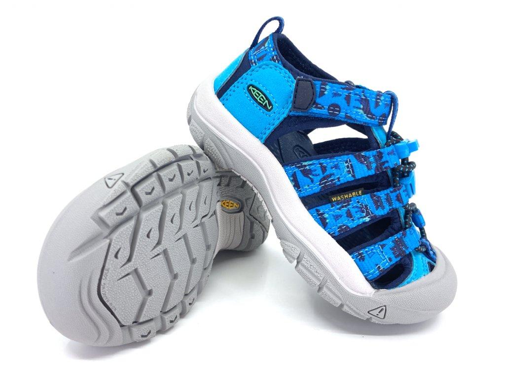 dětské sandále Keen Newport H2 Vivid Blue Katydid