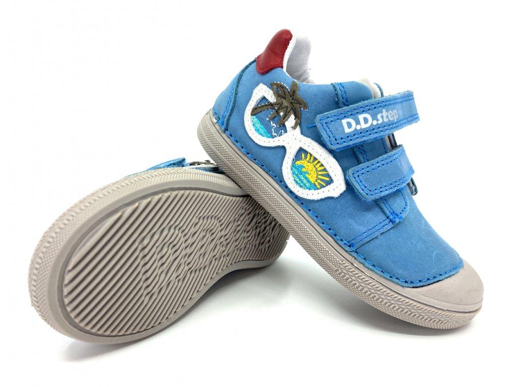 dětské boty DD Step 049 207 Bermuda Blue