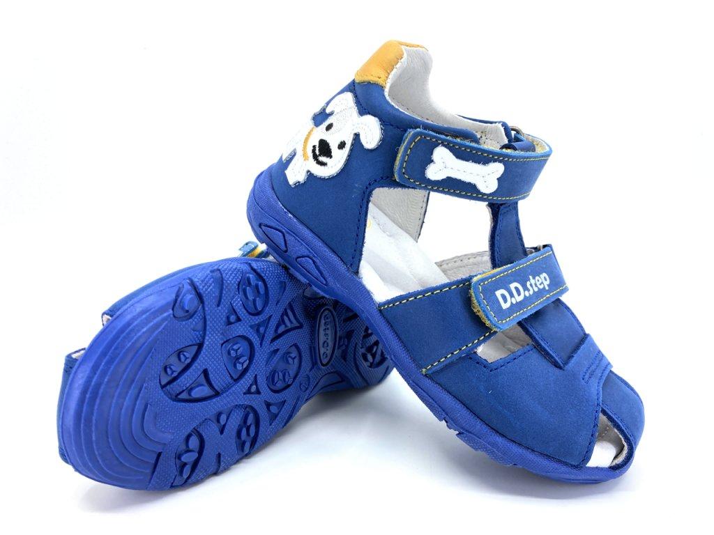 dětské sandále DD Step AC290 612A Bermuda Blue