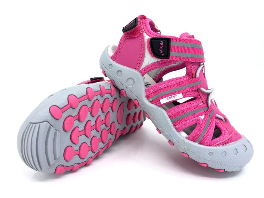 Dívčí sandále Peddy růžové