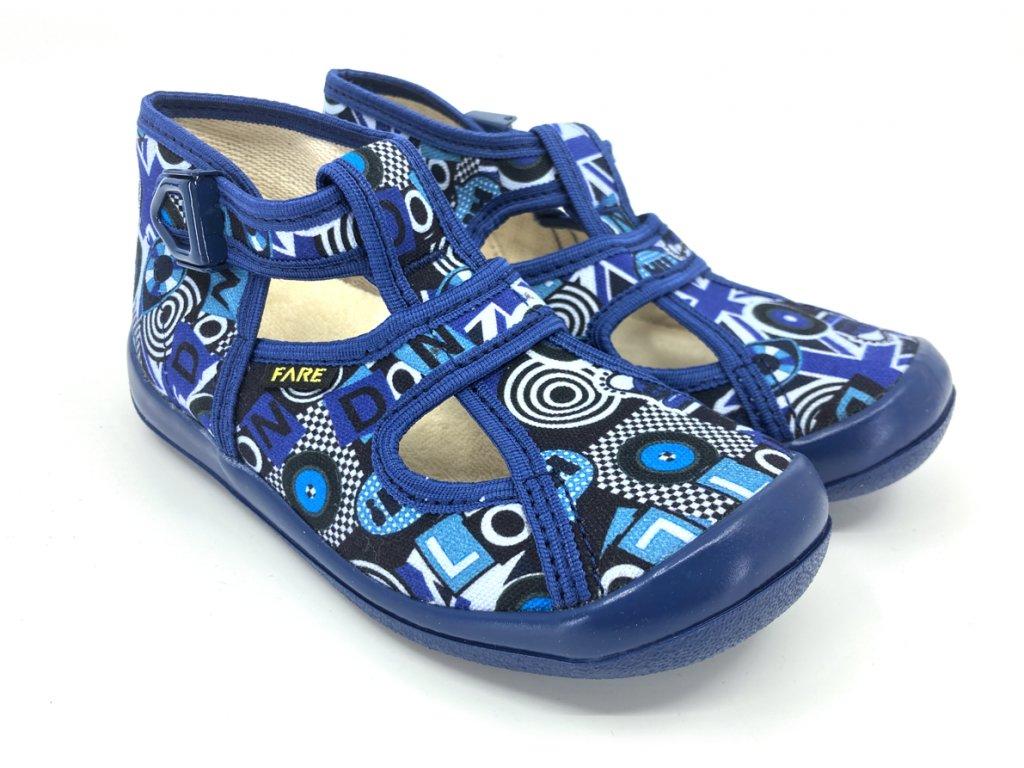 Dětské papuče na přezku FARE 4114401