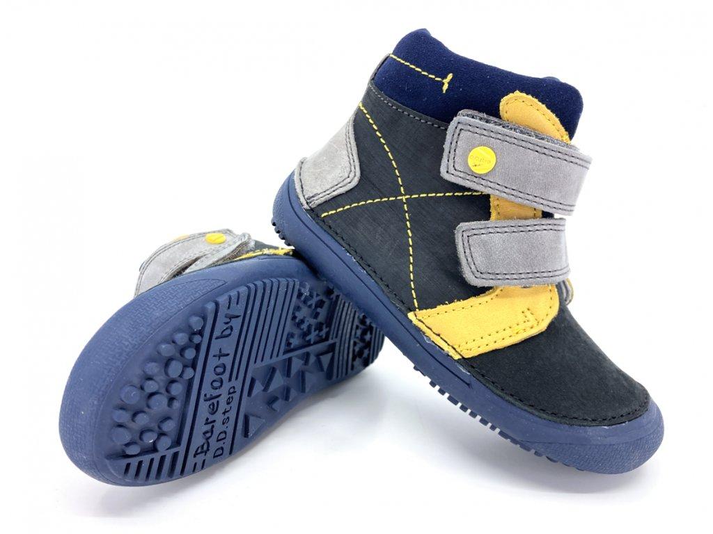 dětské barefoot boty DD Step A063 121 Black