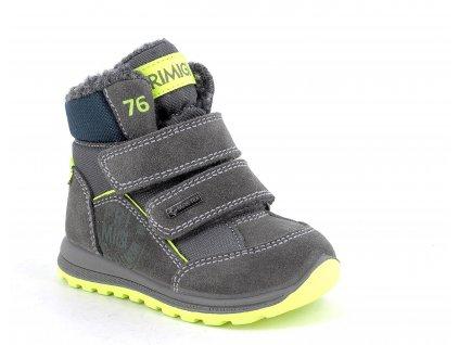 dětské zimní boty primigi 8354033 goretex