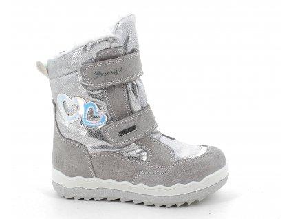dívčí zimní boty Primigi 8382300 goretex