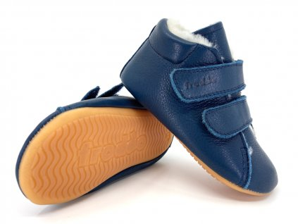 zimní capáčky Froddo G1130013 2 Dark Blue Prewalkers