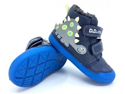 zimní boty DD Step W066 179 Royal blue
