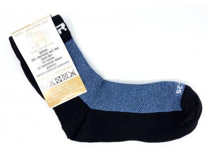 Merino ponožky Surtex jeans 80%