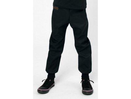 Drexiss Softshellové kalhoty jaro/podzim BLACK