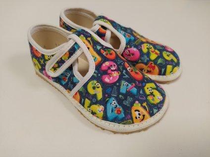 Barefoot papuče Jonap Písmenka