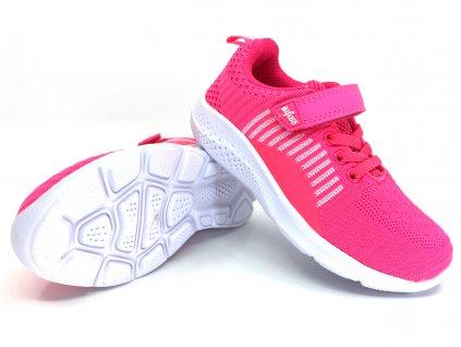 Tenisky Befado Sport růžové