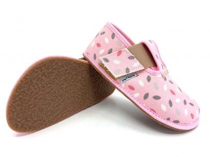 papuče Pegres BF01 růžové