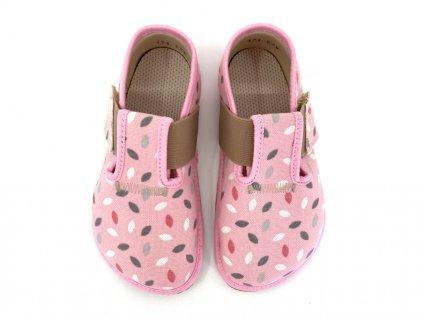 barefoot bačkory Pegres růžové
