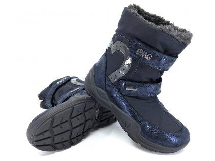 Dívčí zimní boty Primigi 6383000 s Gore-Tex