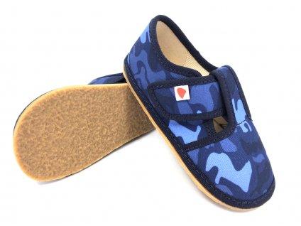 Barefoot papuče Anatomic Army Blue