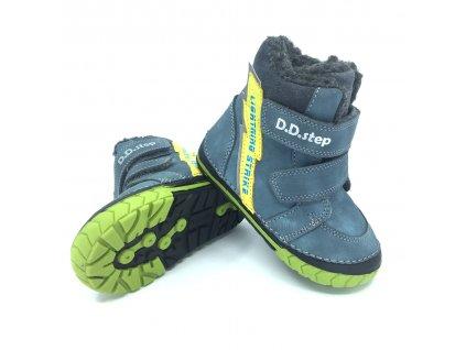 Zimní boty DD Step 029-350 Bermuda Blue