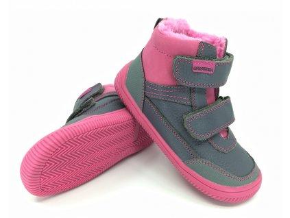 zimní boty Protetika Tyrel Fuxia