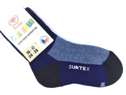 Ponožky Surtex zima Merino jeans