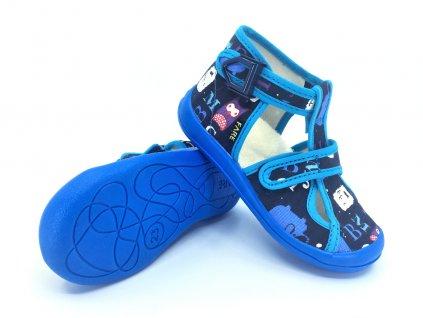 Dětské zdravotní papuče na přezku FARE 4119402