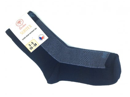 Merino ponožky Surtex tmave modre podzim