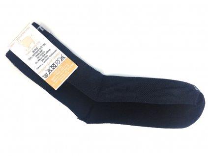 Merino ponožky surtex tmave sede