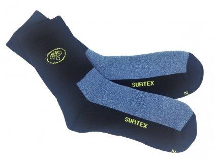 Ponožky Surtex 80% merino volný lem jeans