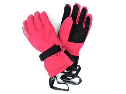 Dětské prstové rukavice Didriksons Five růžové