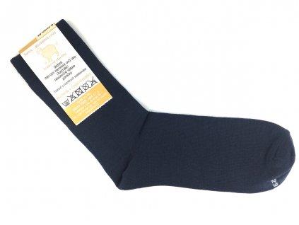 Společenské merino ponožky Surtex tmavě modré