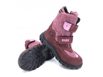 Dětské zimní nepromokavé boty Fare 848293