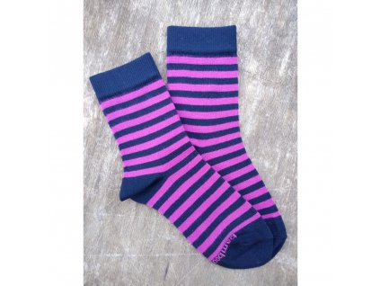 bambusové ponožky trepon babar fuchsiova