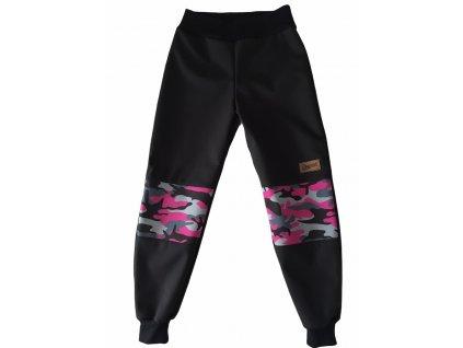 Drexiss zimní softshellové kalhoty MASKÁČ III
