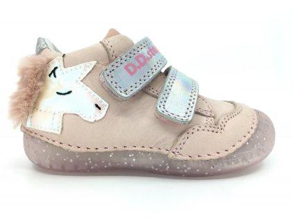 celoroční boty DD Step 015 303 Pink
