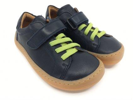 Barefoot tenisky Froddo Dark Blue kožené G3130175