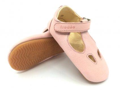 Froddo Prewalkers Pink Balerínky