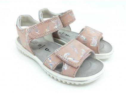 Sandále Superfit Sparkle RosaSilber 1 609004 550