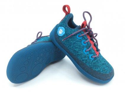 Barefoot Affenzahn Lowcut Knit Shark Lace