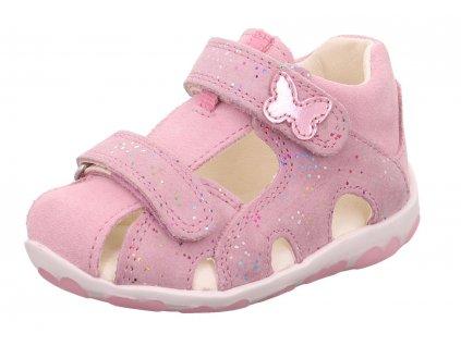 dětské sandálky Superfit Fanni Lila Rosa 0 609041 9000