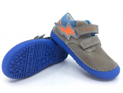barefoot dětské boty DD Step 063 753A Grey