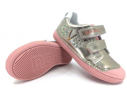 dětské boty DD Step 049 995 Champagne