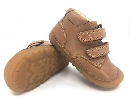Bundgaard barefoot Petit Velcro Caramel
