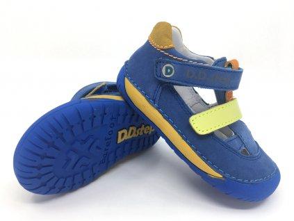 sandále DD Step 070 698 Bermuda Blue