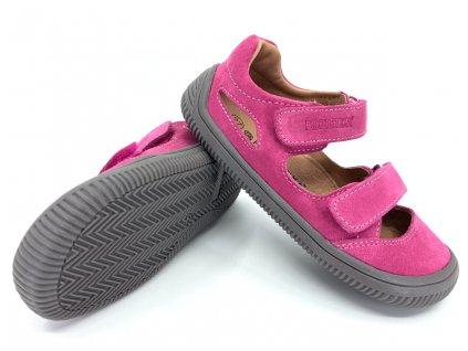 letní barefoot boty Protetika Berg Fuxia