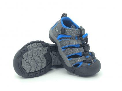 dětské sandále Keen Newport H2 Magnet Brilliant Blue