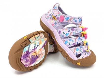 dětské sandále Keen Newport H2 Tiny Candy