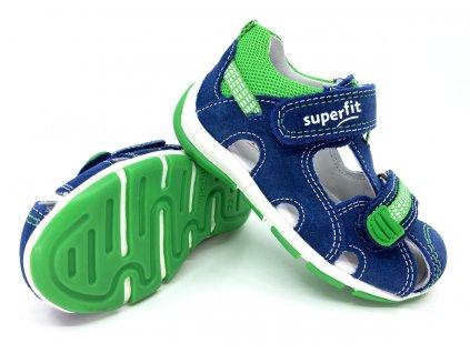dětské sandále Superfit Freddy BlauGrun